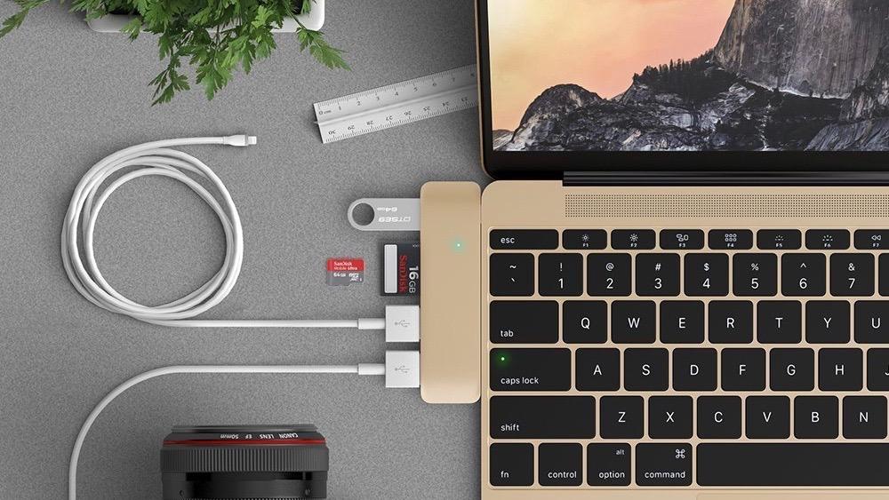 Satechi USB C hub