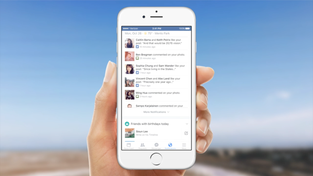 A More Useful Notifications Tab on Mobile | Facebook Newsroom 2015-10-26 13-25-16
