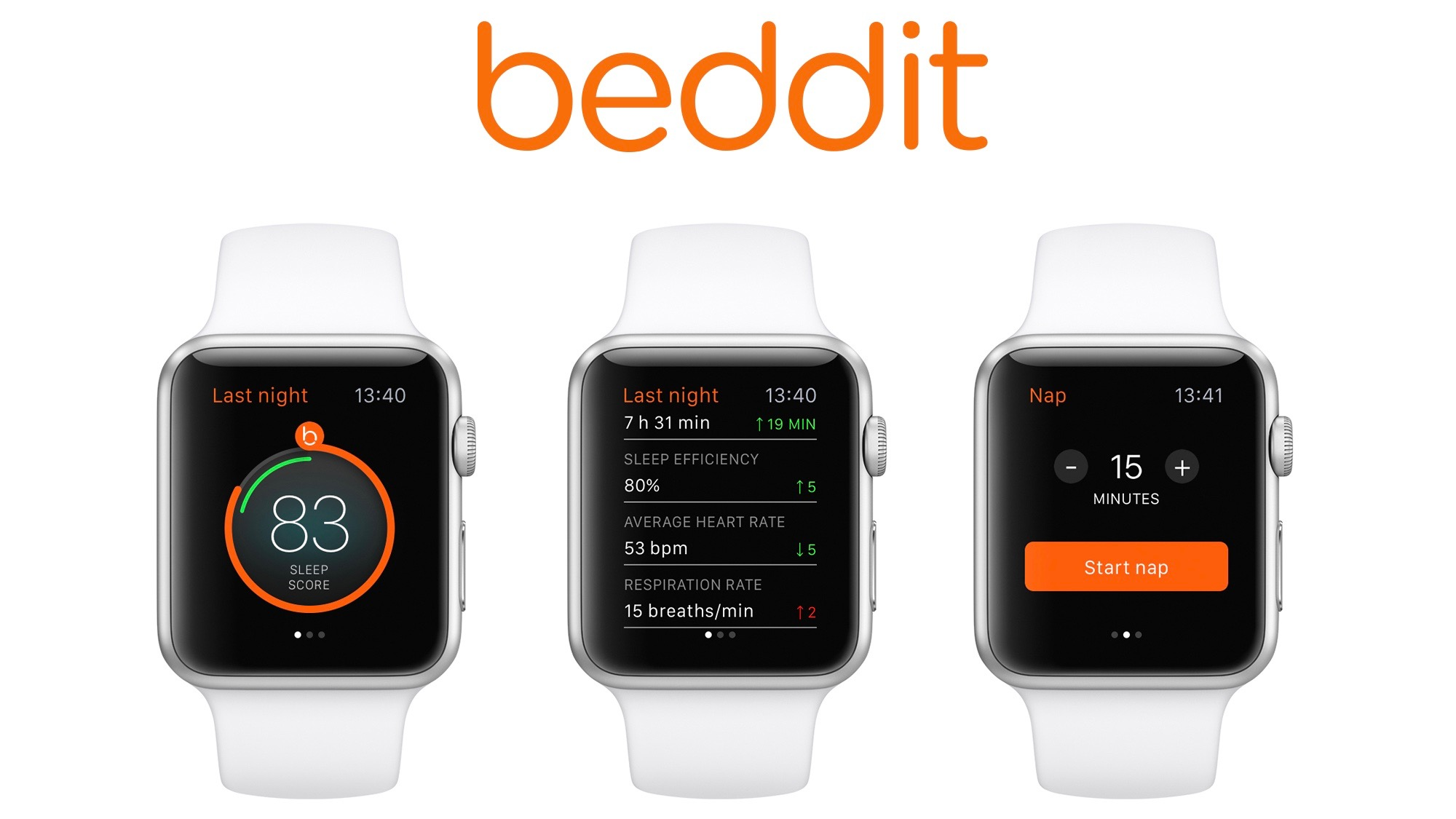 Apple Watch Beddit app