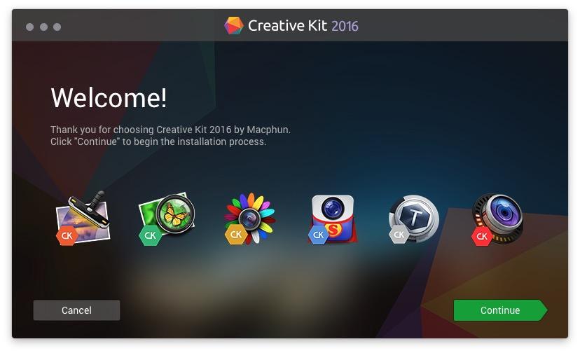 creativekit2016install