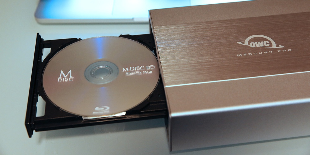 Review: OWC's new Mercury Pro lets your Mac burn archival M-DISCs