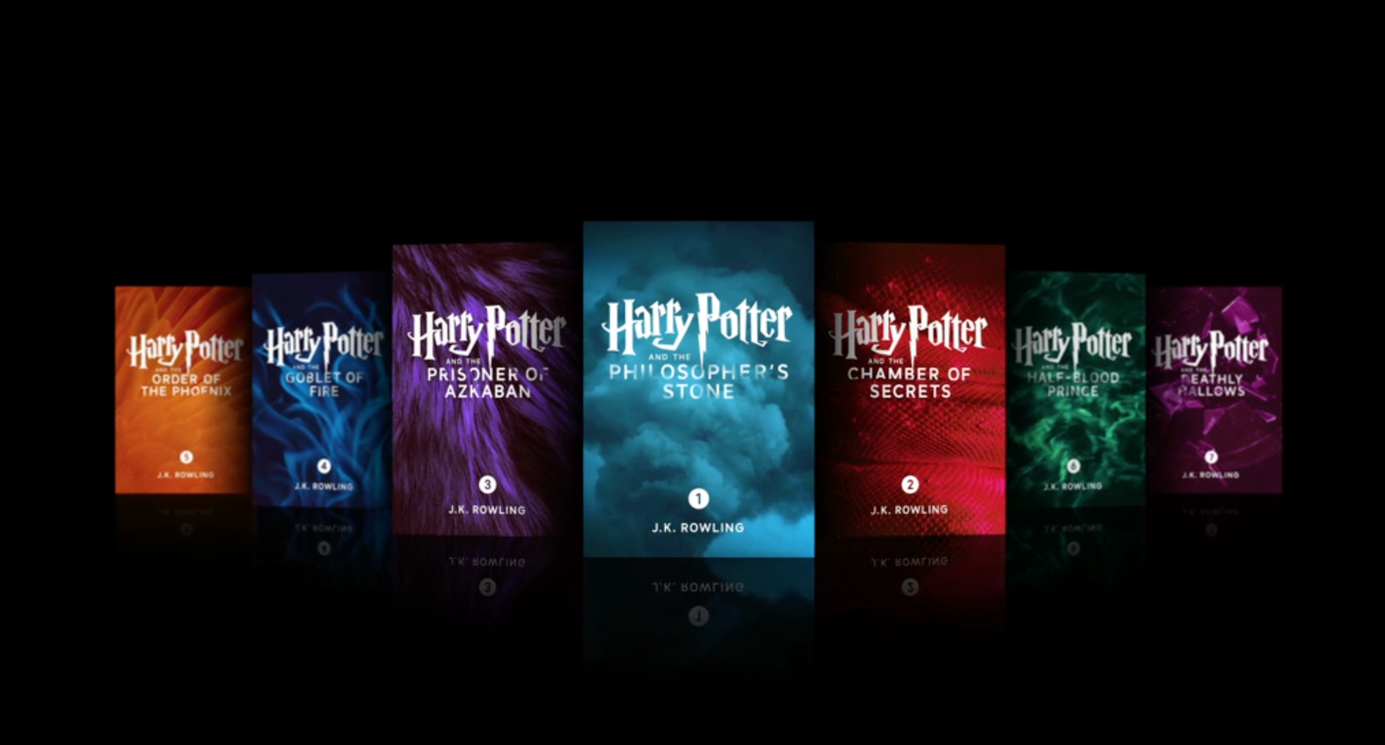 All Seven Harry Potter Books Now Available To Buy In Ibooks