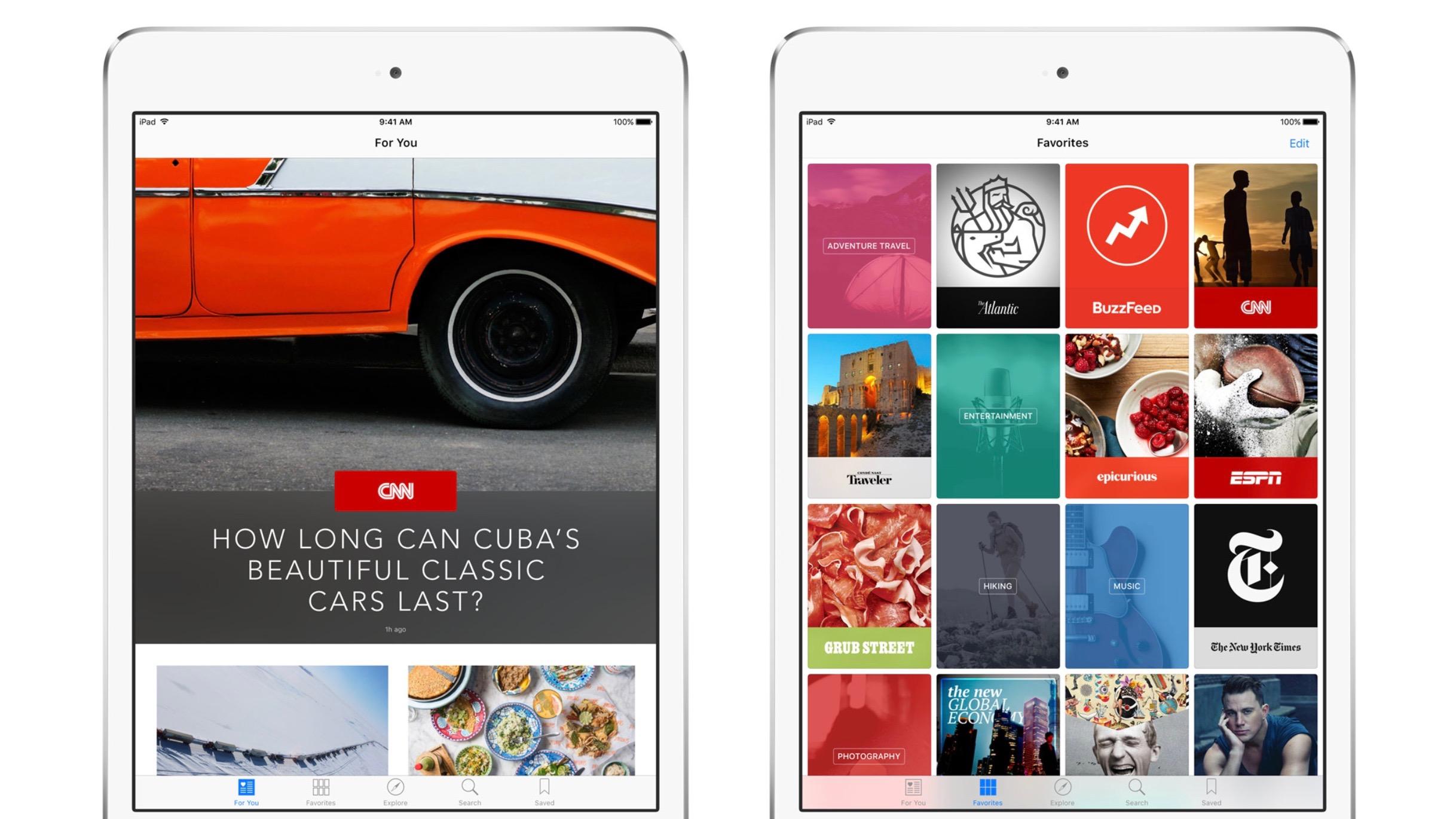 Apple News iPad 16-9