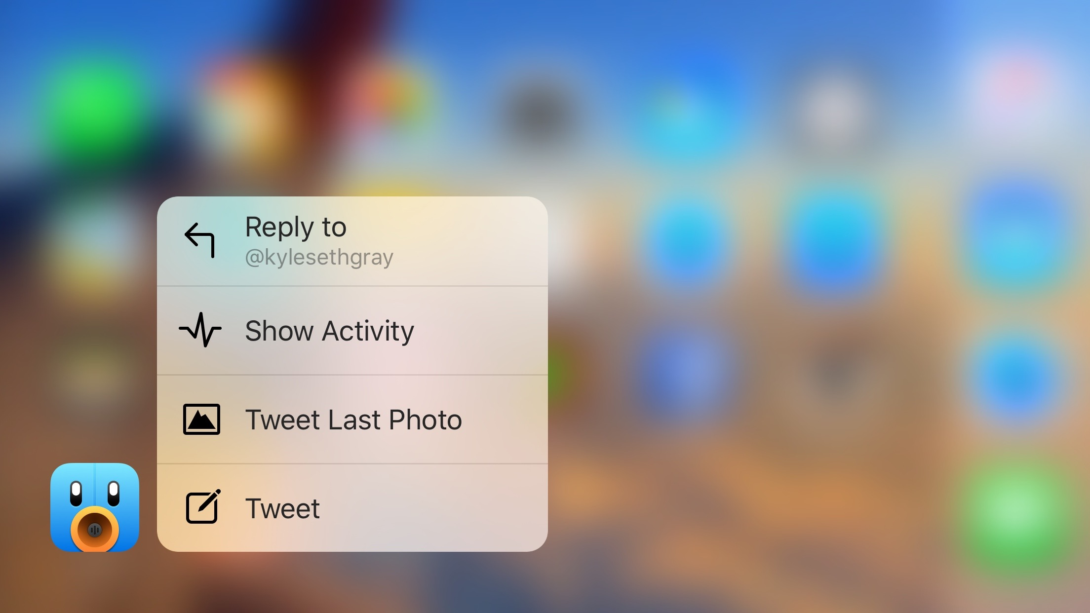 Tweetbot 4 3D Touch