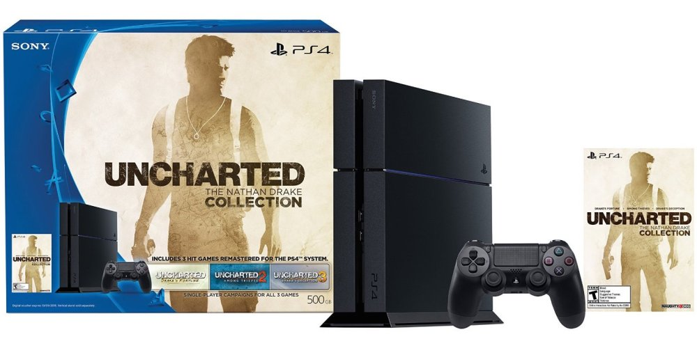 UNCHARTED- The Nathan Drake Collection PS4 Bundle-sale-01
