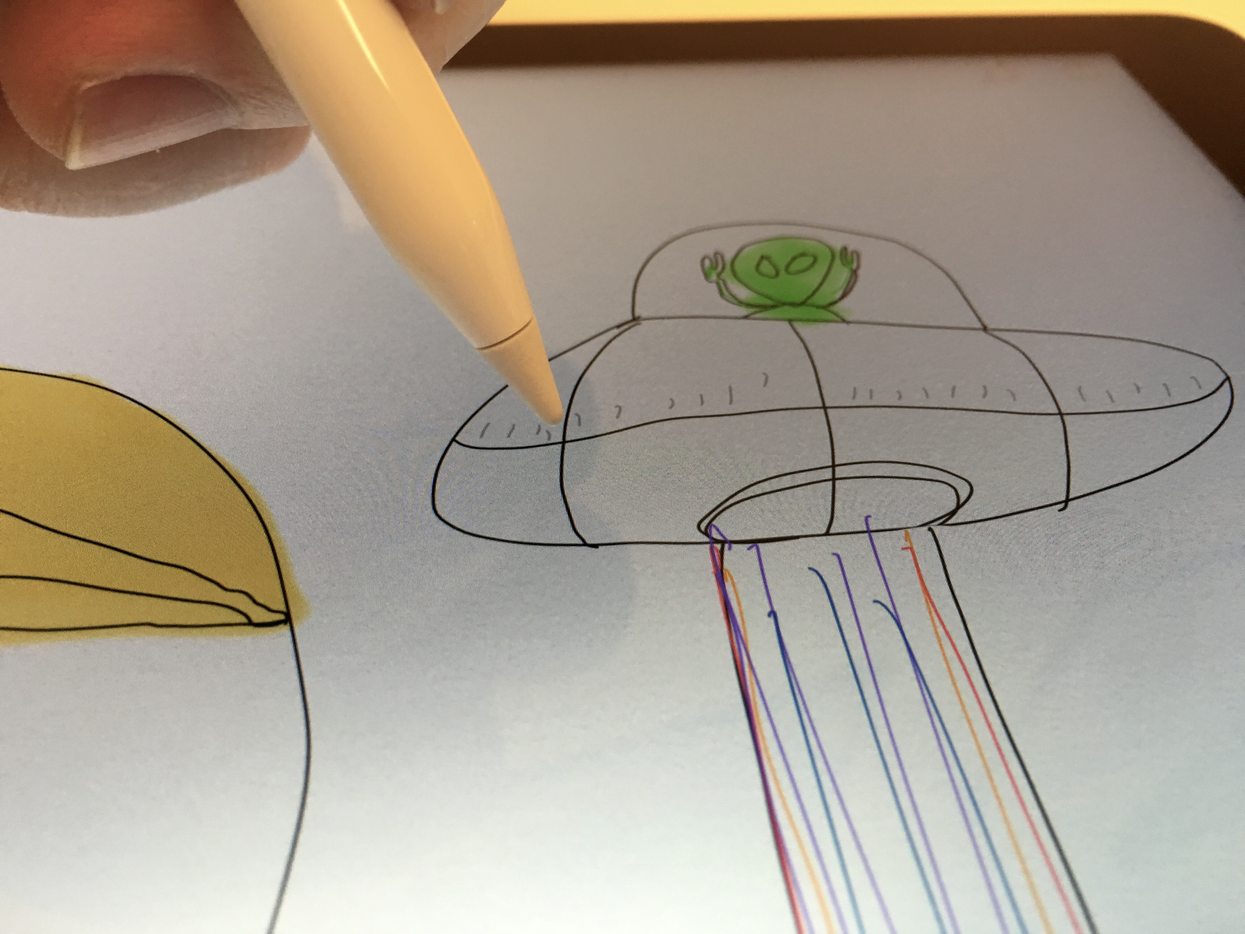 Apple Pencil hands-on 3
