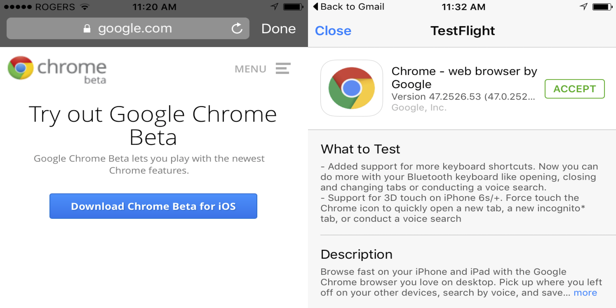 Chrome-beta-iOS