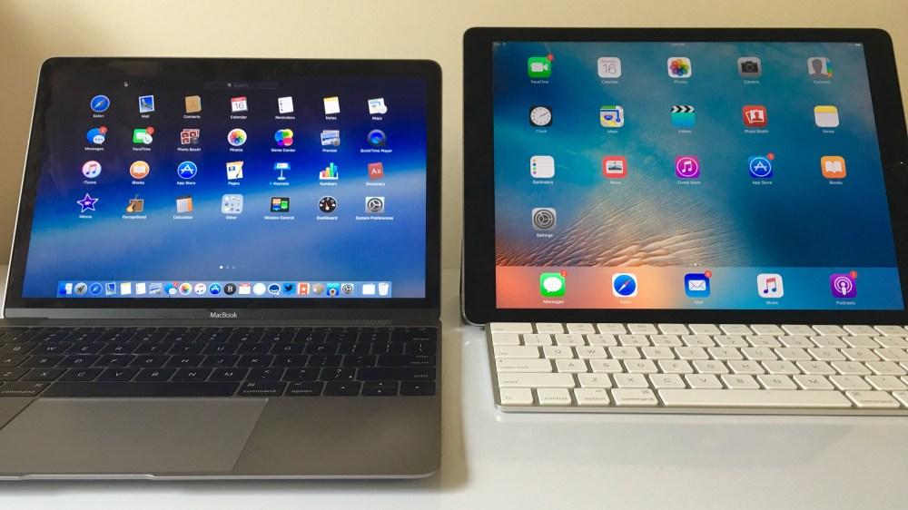 iPad Pro MacBook 12