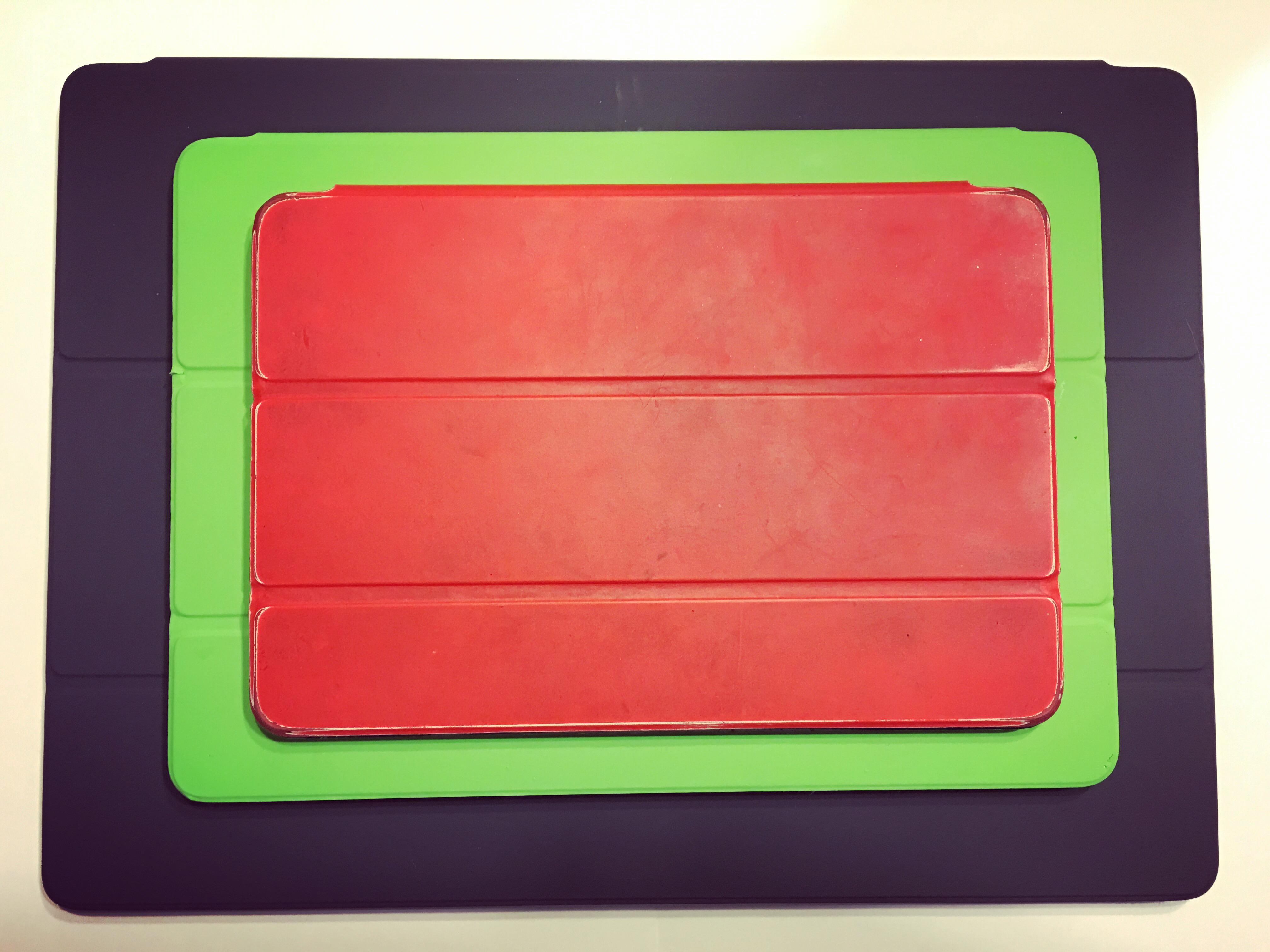 iPad mini Air Pro stacked