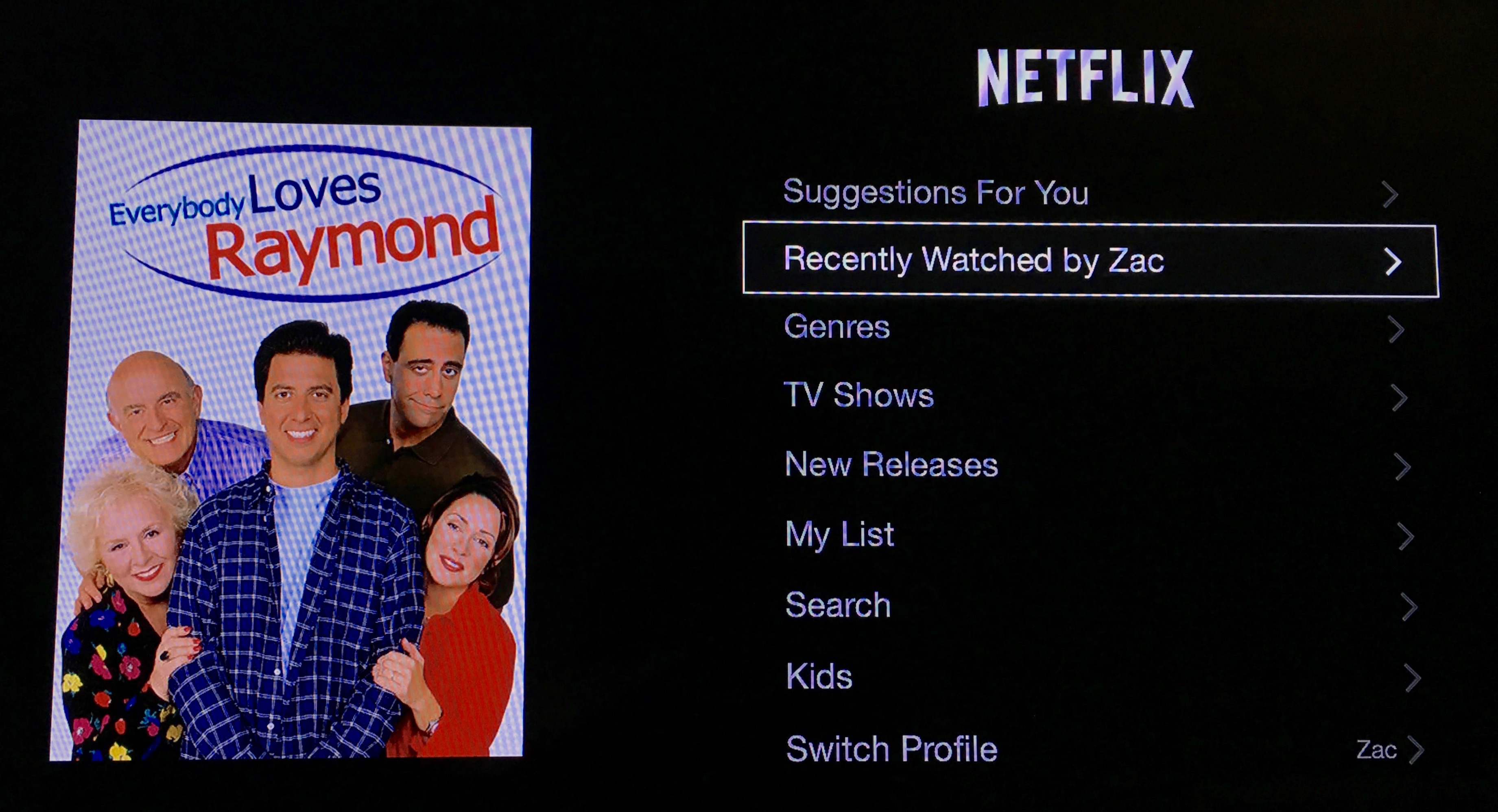 Netflix Apple TV 3