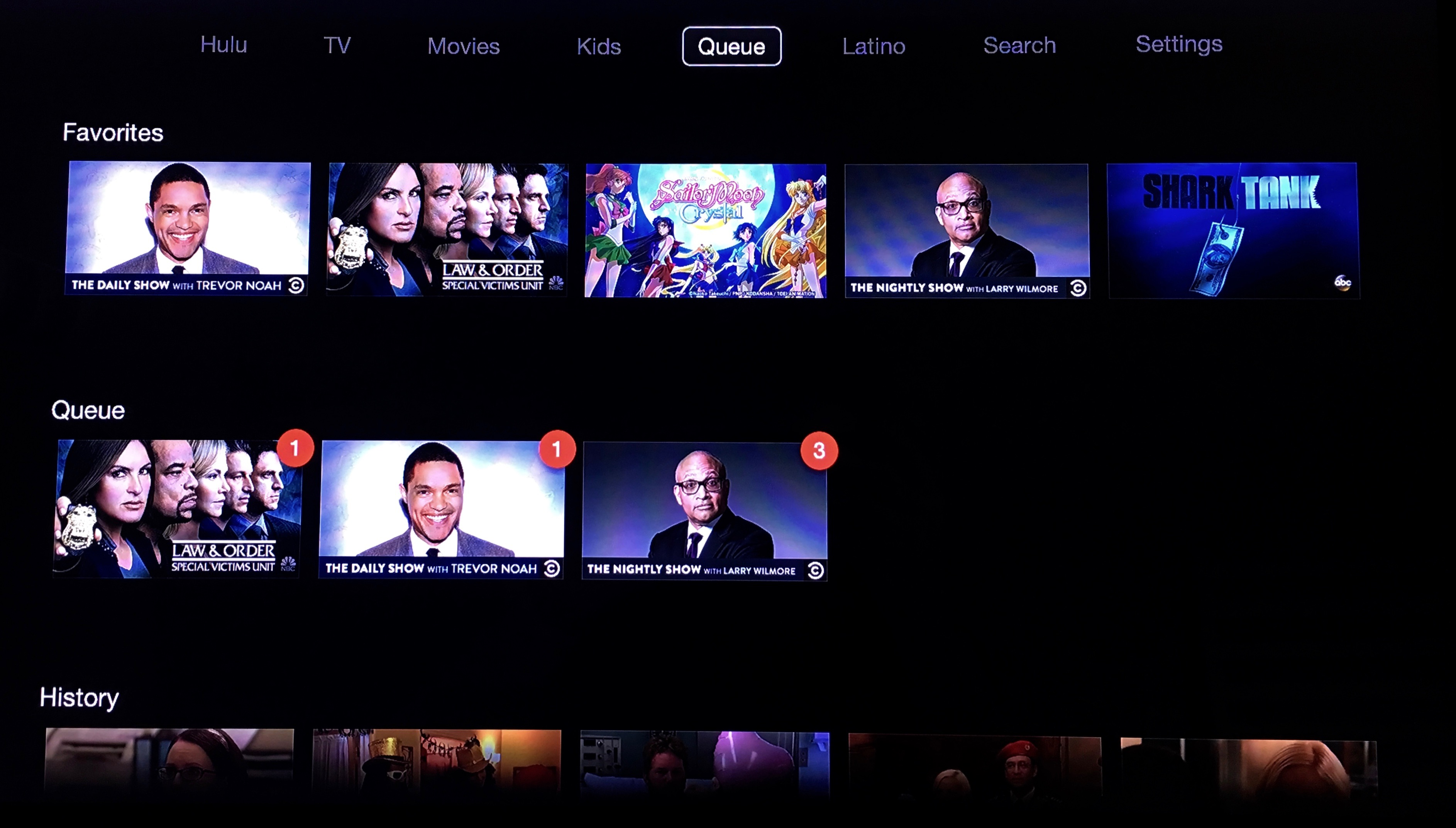 Hulu Queue Apple TV 3