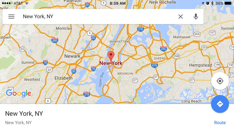 Google Maps 16-9