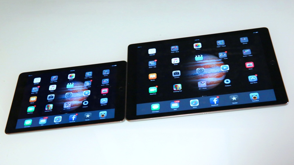 iPad Pro makes the iPad Air 2 look like an iPad mini