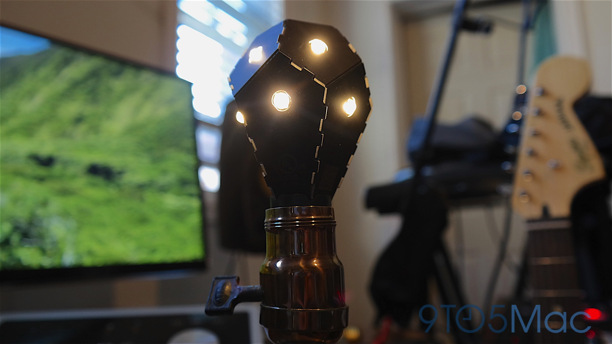 Review Nanoleaf Ivy A Homekit Lightbulb Made From Foldable Circuit Board Lamp Neatorama Should