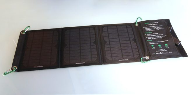 Review Anker S Ravpower S Solar Chargers Refuel Ipads