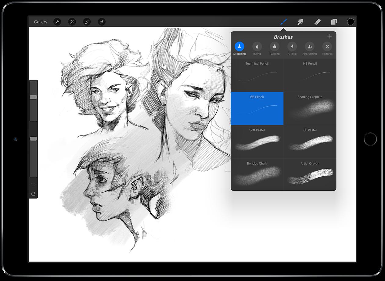how to sketch in pixelmator