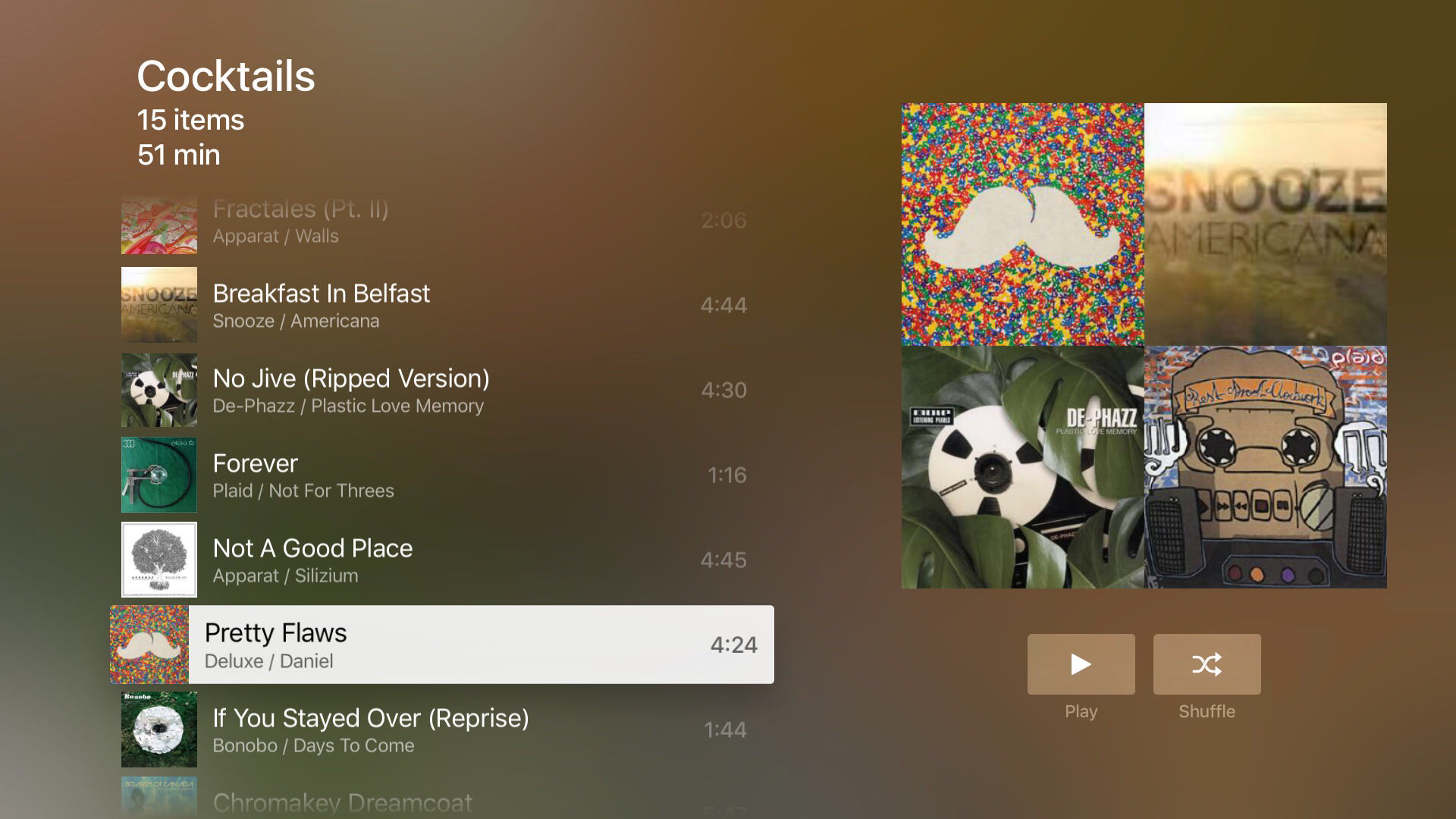 Official Plex app for Apple TV now available, offers local streaming