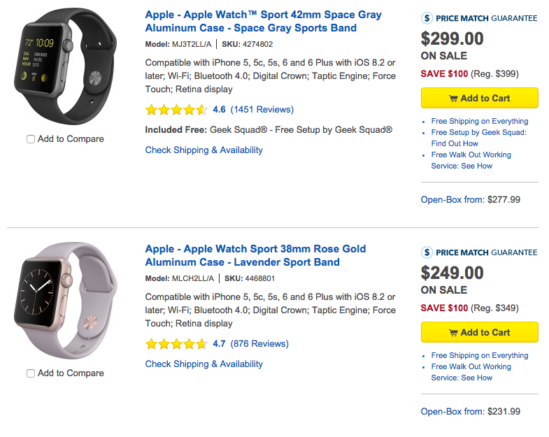 Apple Watch Best Buy
