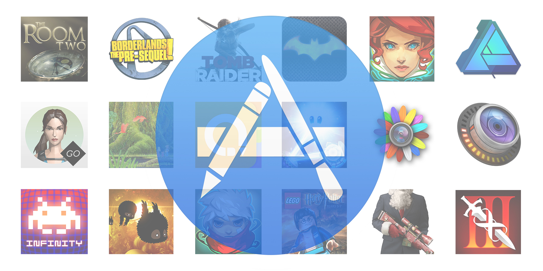 Hundreds of iOS/Mac games & apps are on sale for the