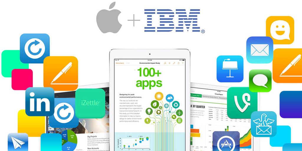 IBM opening 'Garages' dedicated to Apple partnership for