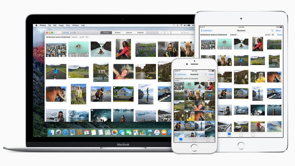 iCloud Photo Library Photos Mac 16-9