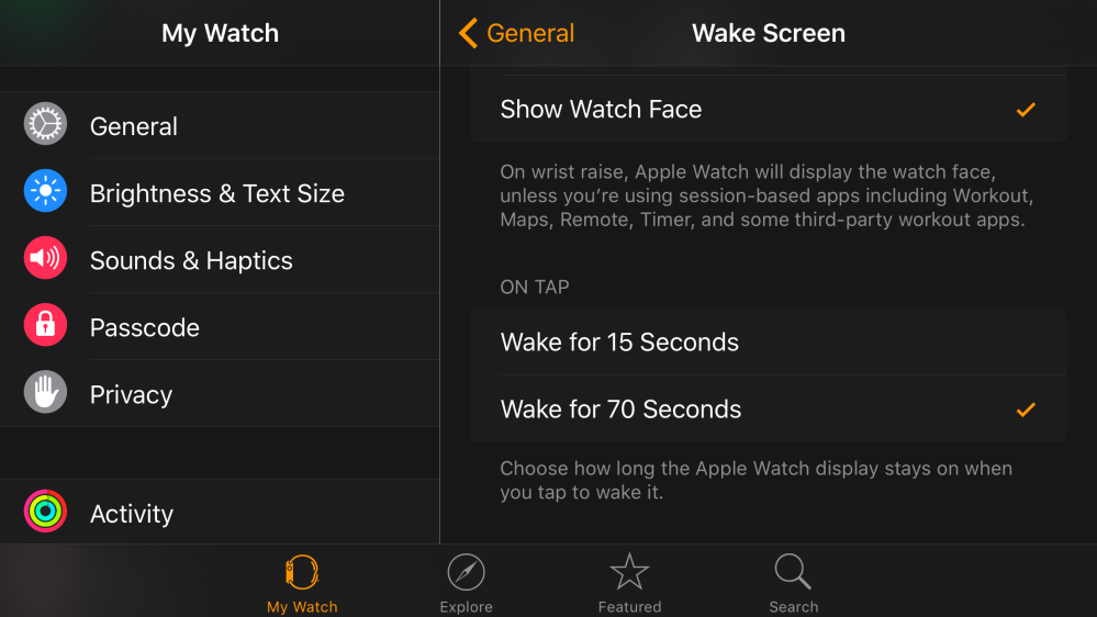 Apple Watch On Tap