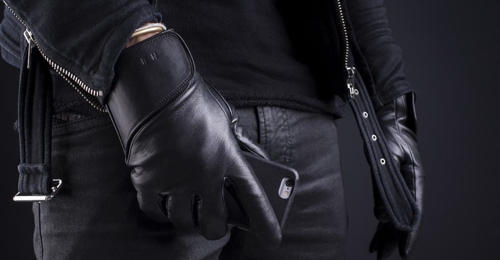 Leather Touchscreen Gloves-Lifestyle-004