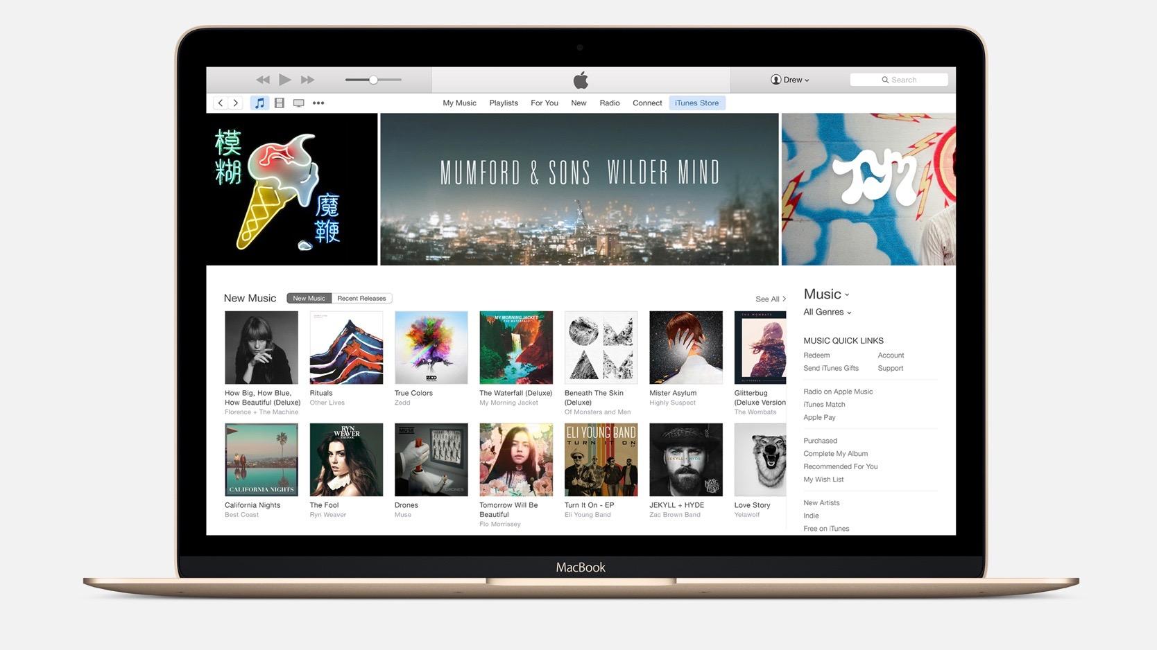 iTunes Mac 16-9