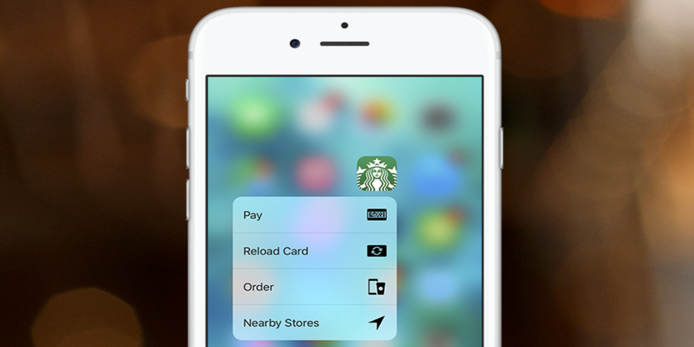 Starbucks-app-3d-touch