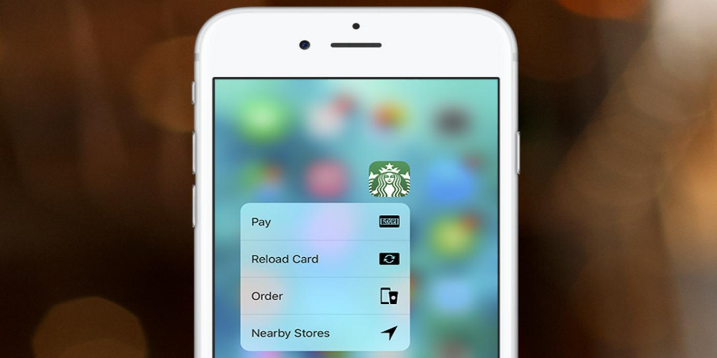 Starbucks-app-3d-touch