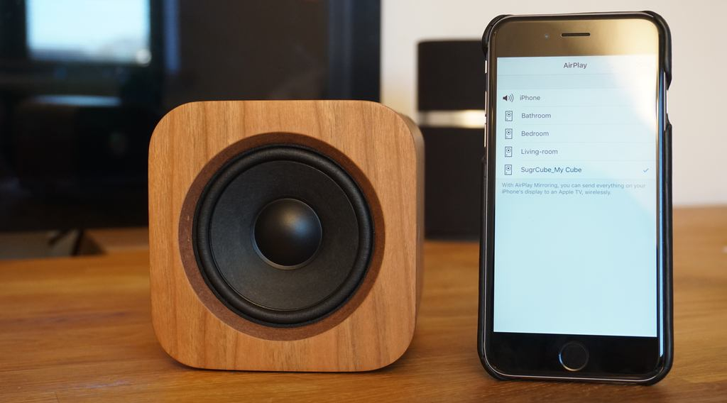 Review: Sugr Cube, the cute wooden portable AirPlay speaker