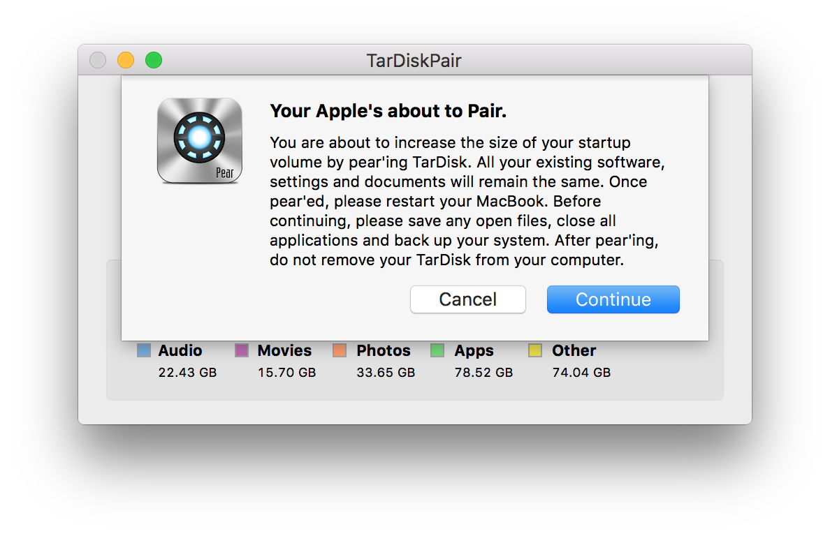 Review: TarDisk Pear increases your MacBook's storage in one-click with an SD card fusion drive