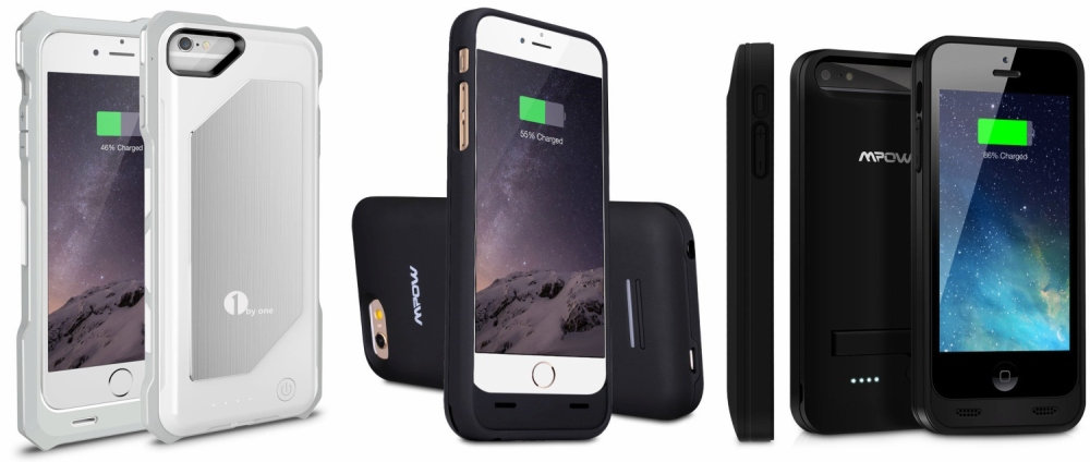 1byone-mpow-iphopne-battery-cases