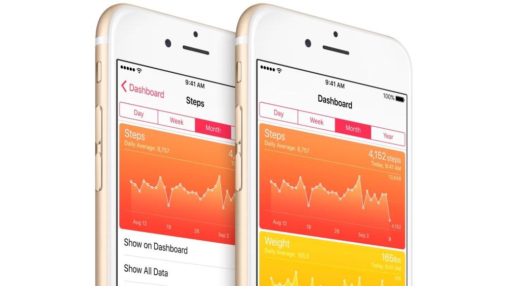 iOS 9 Health Weight