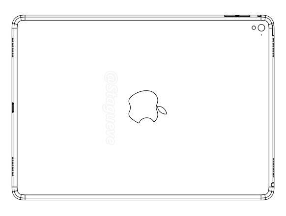 Claimed iPad Air 3 drawing