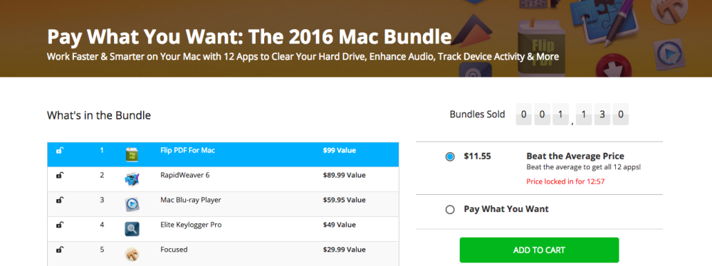 Pay What You Want The 2016 Mac Bundle
