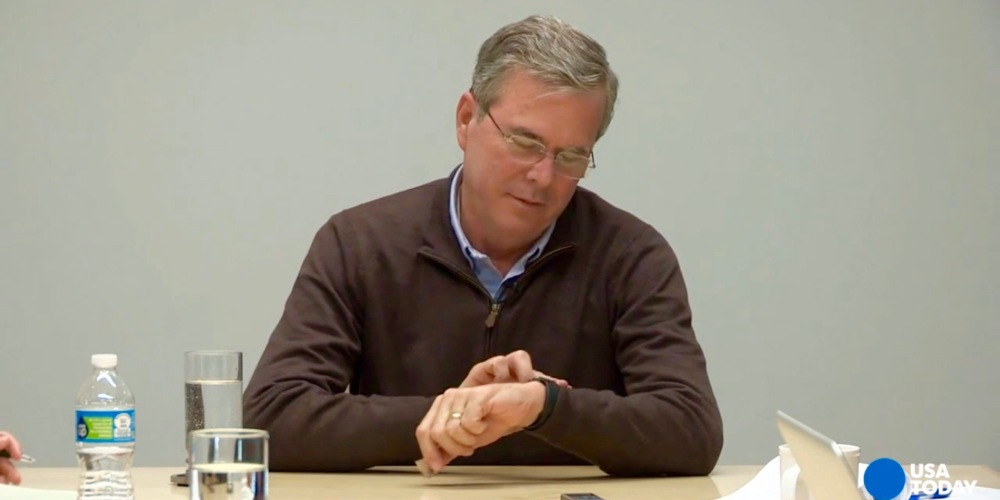Jeb Bush Apple Watch