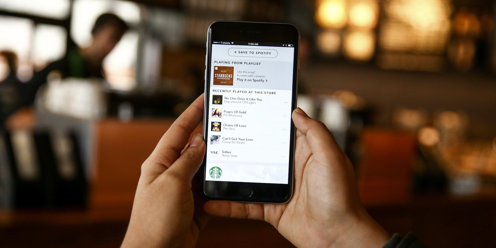 Starbucks-Spotify