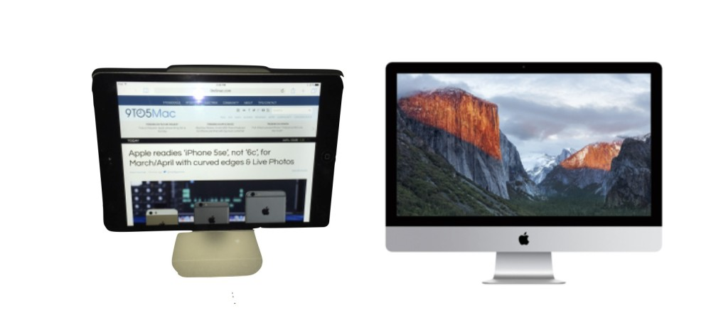comparison of Zand and iMac