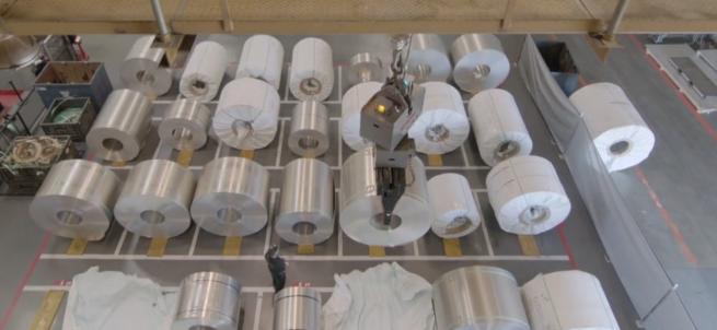 aluminium tesla fremont