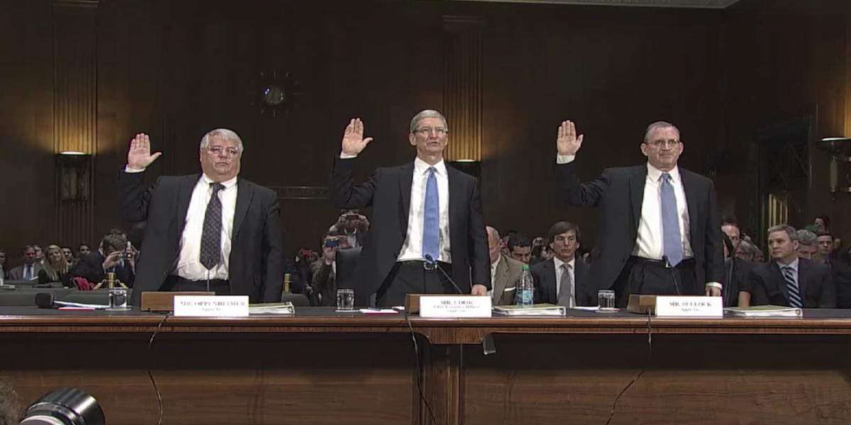 Apple-Senate