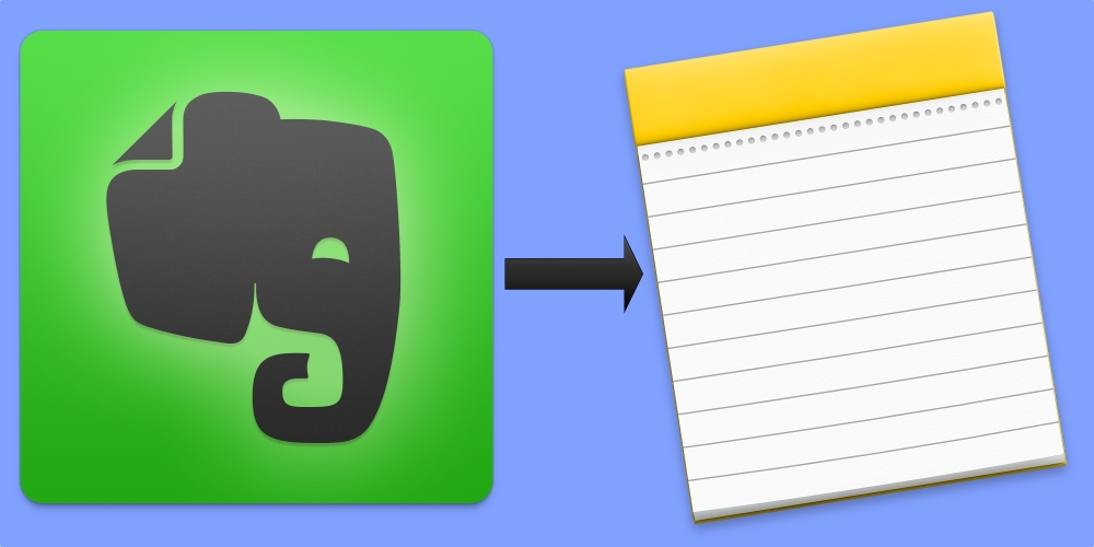 Evernote to Notes