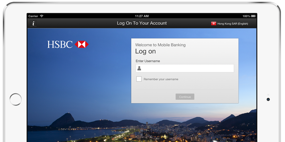 HSBC banking app replacing passwords & memorable questions with