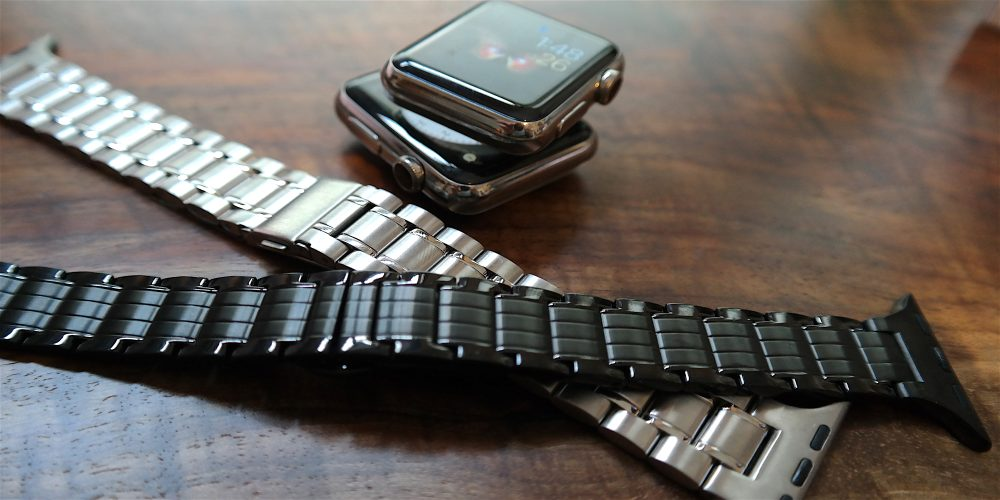 Review: Hyper's $69 stainless steel Apple Watch bands in silver & space black