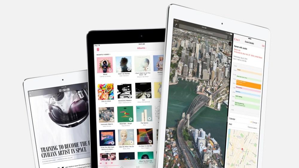 iPad iOS 9 Lead