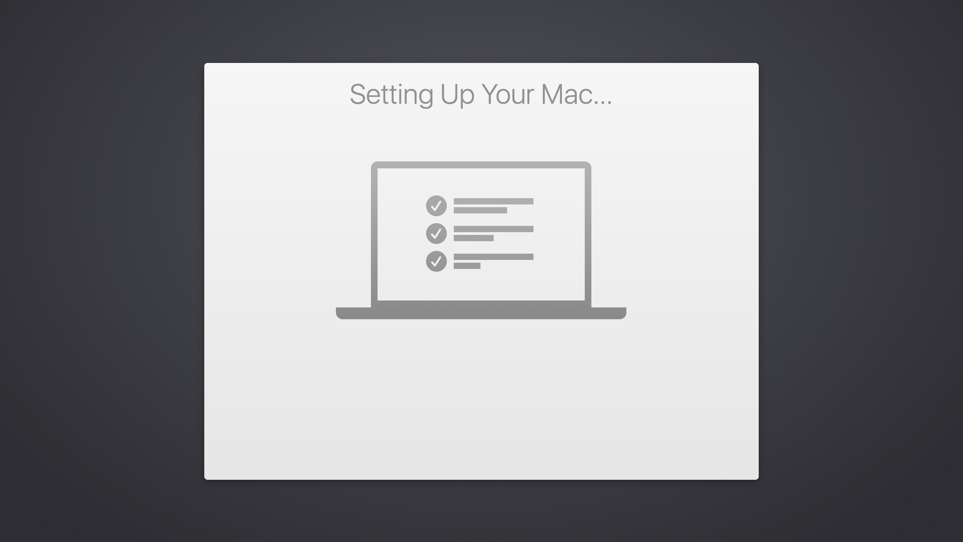 Setting Up Your Mac Tips for the First Time