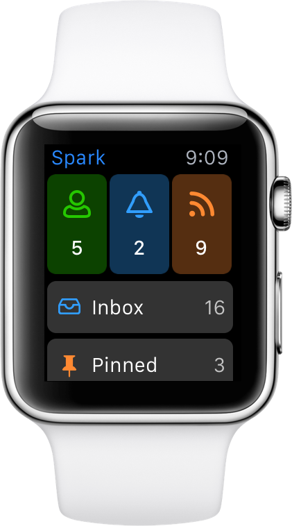 Spark Apple Watch