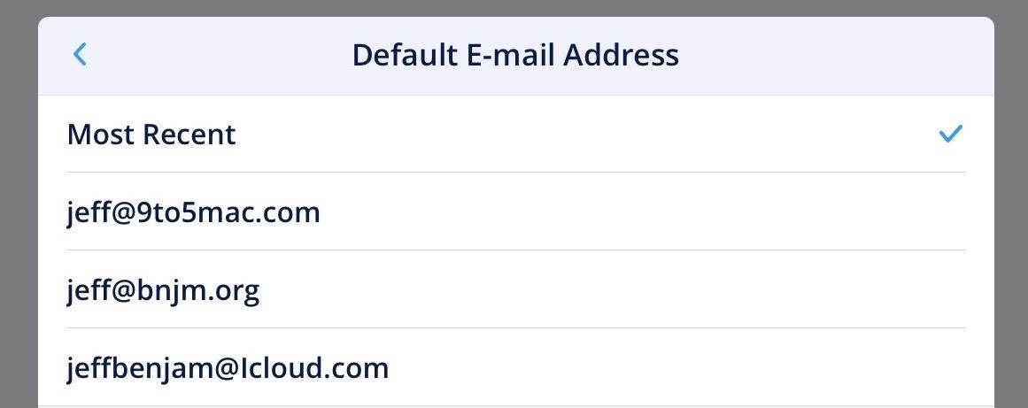 spark-set-default-email-address