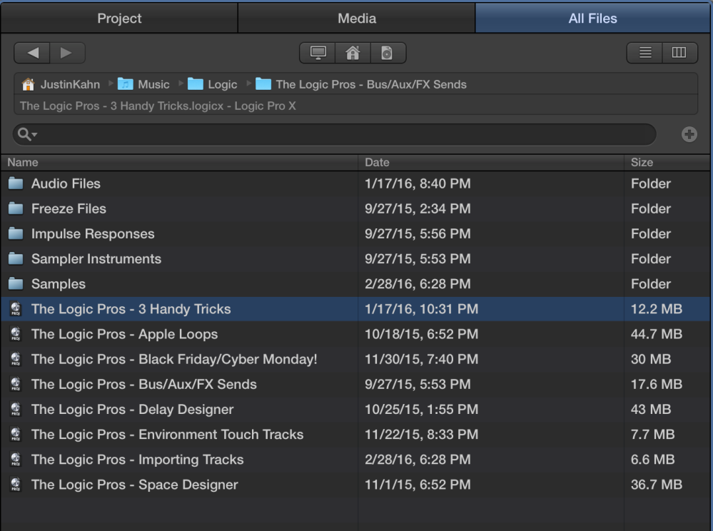 The Logic Pros-Import Tracks-4