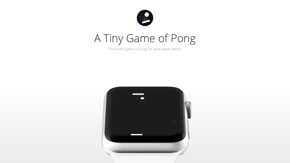 Tiny Game of Pong (Featured Image)